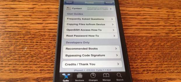 El iPhone 5 sucumbe al 'jailbreak'