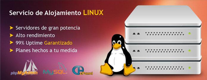 imagenes webAlojamiento Linux