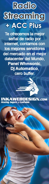 Radio Streaming en Inkawebdesign.com